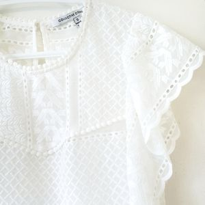 Collective Concepts Tops - NWOT Collective Concepts Romantic Lace Blouse